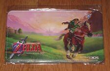 Legend of Zelda Ocarina Of Time 3D caso oficial Bolsa Funda Promo BNIP raro