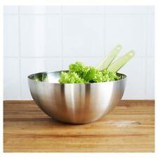 IKEA BLANDA BLANK Diameter 20cm Stainless Steel Serving Bowl Mixing Bowl Dinning