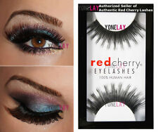 1 Pair AUTHENTIC RED CHERRY #5 Wellington Human Hair False Eyelashes Strip Lash