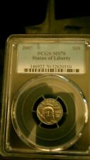 2007  P $10 Platinum Eagle, 1/10th Oz PCGS MS70 L@@K!