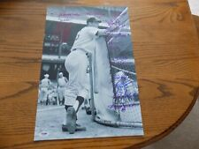 MULTI-SIGNED NEW YORK YANKEES 12X18 PHOTO OF THURMAN MUNSON SIGNED BY 19 YANKEES