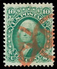 MOMEN: US STAMPS #68 USED XF PF CERT