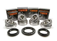 Mercedes W164 W251 GL ML R Front Differential Bearings & Seals Kit Timken