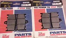 2 SBS Brake Pads ZX6R ZZR600 1100 ZXR 400 750 GSXR600/750 TL1000 ONE SET (PAIR)