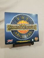 Forgotten Realms: The Archives - PC CD-ROM, 1997 TSR AD&D - Tested & Working