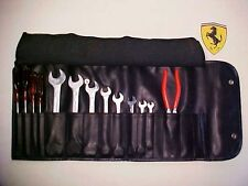 Ferrari Tool Kit_Roll Bag_Wrenches_Screwdrivers_Pliers_Tow Hook_Spark Plug OEM