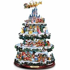 Bradford Exchange Christmas Tree, Disney Tabletop 50Characters 4Levels Sculpted