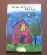 SIGNED - THE SECRET BIRTHDAY MESSAGE by Eric Carle - 1st HCDJ 1972 - VG+