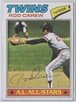 1977 Topps Rod Carew A.L. All Stars Card No. 120 EX-MT