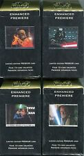 Star Wars CCG Enhanced Premiere Decks x4 Deal Vader Boba Luke & Obi