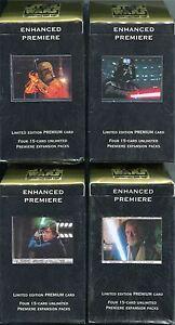 Star Wars CCG Enhanced Premiere Decks x4 Deal Vader Boba Luke & Obi