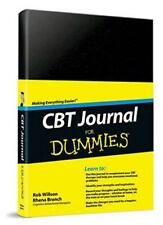 CBT Journal For Dummies by Rob Willson, Rhena Branch | Hardcover Book | 97811199