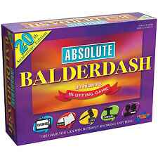 Absolute Balderdash 20th Anniversary Edition - Brand New Family Board Game