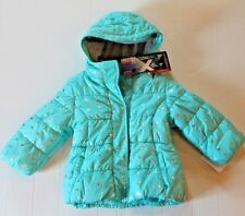 Toddler Girl 2T Aqua Blue Princess Zero Xposur Heavyweight Winter Coat Jacket