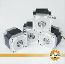 [US] ACT Motor 4PCS Nema34 Stepper Motor 34HS9820B 890oz 98mm 2A 8-Lead