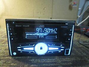 JVC KW-R920BTS Radio Stereo Bluetooth CD Player Receiver Unit Aftermarket