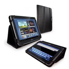 Tuff-Luv Type-View Tasche Etui Hülle Stand Schwarz für Samsung Galaxy Note 10.1