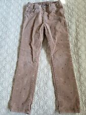 H&M Little Girls Pants Size Us 5-6 Y Color: Brown, Pre-owned.