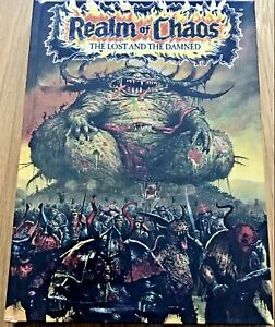 REALM OF CHAOS The Lost and the Damned H/B Book Brand New Sealed Warhammer Chaos