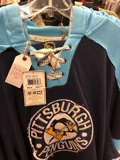 NHL pittsburgh penguins Logo Hockey CCM  hoody NEW Sewn letters