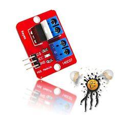 Arduino PWM LED Modul 0-24V Mosfet IRF520N Transistor Motor Control 10V LED PWM
