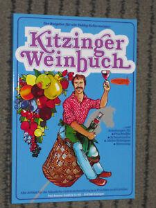 KITZINGER  ARAUNER    KITZINGER WEINBUCH  238 Seiten NEU UNGELESEN