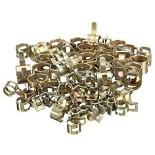 60pcs Fuel Line Clamp Hose Spring Clips Water Pipe Air Tube 6/9/10/12/14/15mm