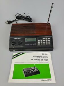 Realistic Pro-2011 20 Channel Direct Entry Programmable Police Scanner 20-128