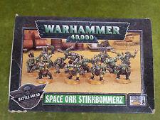 Warhammer 40k Space ork Stikkbommerz Battle Squad metal part - RECORDED DELIVERY