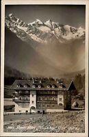 Trins Tirol Österreich s/w AK ~1940 Partie am Alpen Hotel Trinser Hof ungelaufen