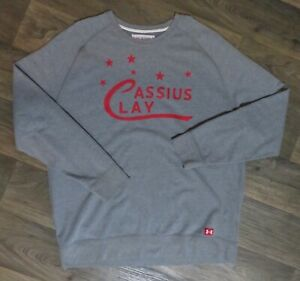 """CASSIUS CLAY """"Roots of Fight"""" UNDER ARMOUR Size XXL 2XL SWEATER Sweat Shirt NWOT"""