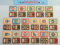 1979 Topps NHL Near Complete Sticker Set 17 Vintage Hockey Decals Stickers Batch