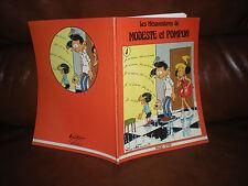 LES MESAVENTURES DE MODESTE ET POMPON N°4 - EDITION ORIGINALE MAGIC STRIP 1980