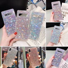 Bling Glitter Shockproof Soft Silicone Case Cover For Samsung S20 5G S10 S8 A70