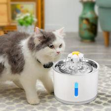 Katzen Trinkbrunnen LITTLE FLOWER DELUXE mit Edelstahl 2,4 Liter Wasserspender