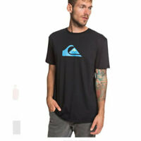 Quiksilver M and W  ss tee black 2019 new t-shirt surf skate snow s m l xl