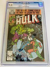 Incredible Hulk #251 CGC 9.8 so pretty