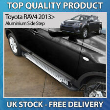 TOYOTA RAV4 IV 2013+ ALUMINIUM STYLISH DOTTED RUFFORD SIDE STEP RUNNING BOARDS