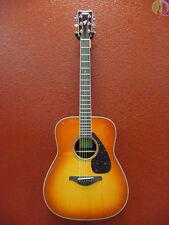 Yamaha FG830 Dreadnought Acoustic Guitar, Autumn Burst, Free Shipping Lower USA