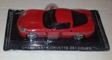 Supercars De Agostini Chevrolet Corvette Z51 Coupe 1/43 Modellino