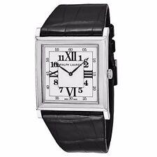 Ralph Lauren Slim Classic 867 Reloj - 18K oro blanco totalmente nuevo movimiento PIAGET