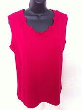 NWT Jones Plus Size 1X Light Sleeveless Sweater SOFT!