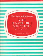 Vier Eenvoudige Sonatines, Jurriaan Andriessen