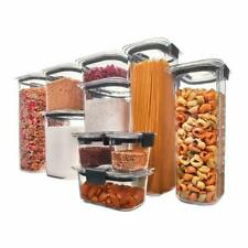 Rubbermaid Brilliance Pantry Organization & Food Storage Containers (20 Pieces)