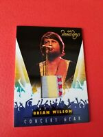 BRIAN WILSON THE BEACH BOYS SINGER CONCERT WORN RELIC MEMORABILIA CARD #11