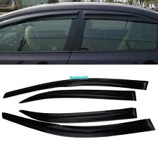 4X Window Visor Vent Sun Rain Deflector Guard For Toyota Corolla 2009-2013 09-13