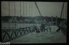 cpa  94  VILLENEUVE-St-GEORGES. - Pont Suspendu.  - Mauborgne - Val de Marne