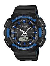Reloj para hombre AD-S800WH-2A2VCF Solar Casio con banda de resina negra