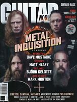 GUITAR World August 2020  Metal Inquistion
