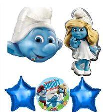 The Smurfs Foil balloons ( lot of 5 balloons)
